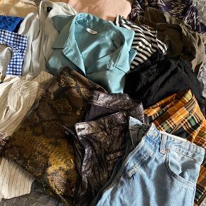 Langt over 20 stk tøj fra ZARA, h&m, envii, mango mm. I str xs-s-m.  Kan hentes i Valby snarest!