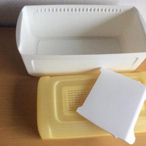 Varetype: BreadSmart Junior med skillerum Størrelse: 32 x 16/5 x 15/5 Farve: Hvid / Gul Oprindelig købspris: 299 kr.