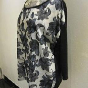 Ny Dorothy Perkins top str. 46 Bm 2x55-56 cm Længde 66 cm med ensfarvet ryg - polyester. 120kr plus porto (m8569)  #Secondchancesummer