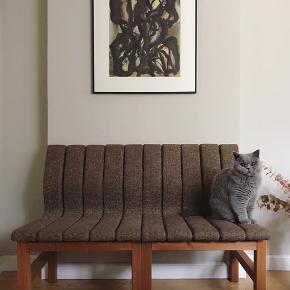 To svungne vintage loungestole i fyrretræ der kan sættes sammen til sofa. Se billeder. Designet/udført af Vagn Fuglsang/ Fuglsang Collection. Med stempel/brændemærke. Produceret på fabrikken i Skals.  Samlet 1500kr  #danskdesign #fuglsangcollection #vagnfuglsang #snedkerkunst #modulsofa #vintagesofa
