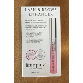 Lash & brows enhancer fra âme pure.  Pakken har aldrig været åbnet.  Nypris kr 1000,- https://www.amepure.com/dk/lash-brows-enhancer.html