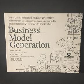 Business Model Generation af Alexander Osterwalder & Yves Pigneur på engelsk.   BYD