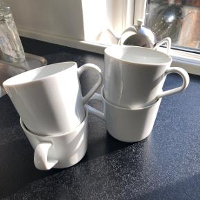 4 stk kaffekopper fra IKEA - 24cl. Bytter ikke og prisen er fast. Sender ikke kopperne 😊