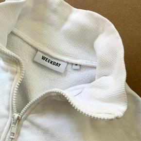 - Weekday Lou Zip Front Sweatshirt - SIZE XS / 34 - Worn once, no damages