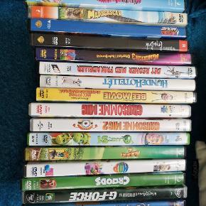 Bedsteforældrehit!!! 18 af de bedste børne dvd'er. Til mange, mange timers hygge og underholdning., hvis I har en dvd afspiller.