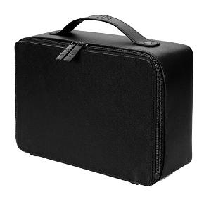 Beis The Cosmetics Case in Black. Incl. mirror and removable brush holder.  Som I kan se, har min aldrig været åbnet, så I må nøjes med billeder fra hjemmesiden.  ALDRIG BRUGT - BYTTER IKKE