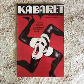 Filmplakat plakat kabaret cabaret  Fotografi  28x43cm
