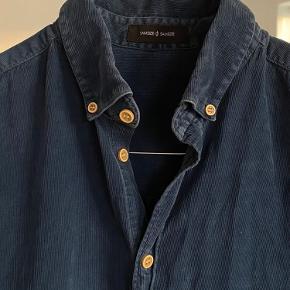 Lækker Samsøe Samsøe fløjlsskjorte
