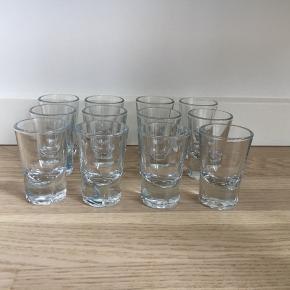 Rosendahl grand cru snapseglas stort set aldrig brugt