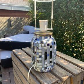 Lækker vintage lampe, super flot i farverne!