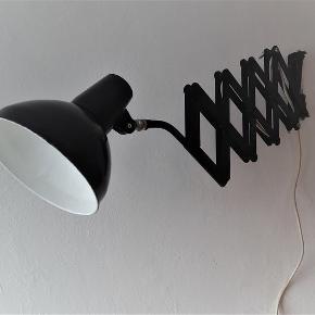 Retro væglampe