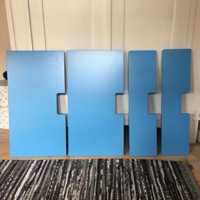 4 stk. skuffefronter til Stuva fra IKEA.   Kan også bruges til serien Fritids.   2 små og 2 store.   Sælges samlet for 150 kr