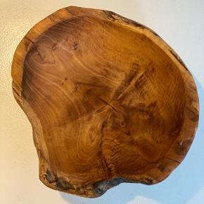 Oliven træ skål 26 diameter