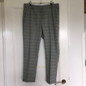 Ternet tweed bukser fra H&M i grønt tern