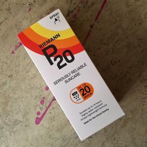 Riemann P20 spray faktor 20 150DKK 2 stk biotherm faktor 30 150DKK