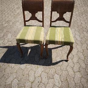 2 pæne stole sælges samlet til højest bydende over 250 kr