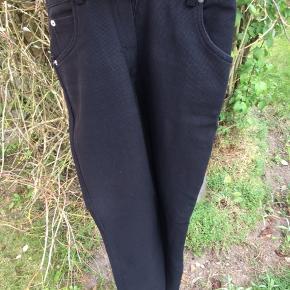 Fede vintage bukser. Lige ben, stramme og højtaljede