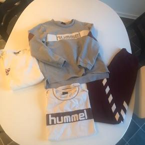 1 par leggings str L 1 sweater str xl men lille passer str l 2 t-shirts str xl - passer str l  Kun brugt enkelte gange Sælges samlet