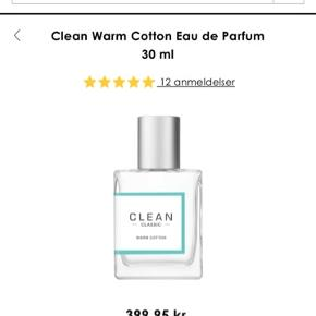CLEAN WARM COTTON 30ML Uåbnet. Prisen er fast.