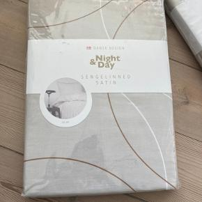 2x sengetøj fra Night & Day - Nypris var 399 for 1. Sælges for 600 samlet