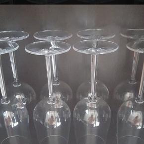 Rosendahl vinglas 10 Hvid og 8 Rød. Kom med bud!