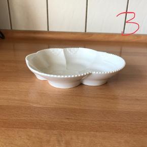 Hvid elements skål, 23 cm, nypris 349kr  INGEN BRUDGARANTI