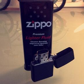 Zippo lighter virker upåklageligt.