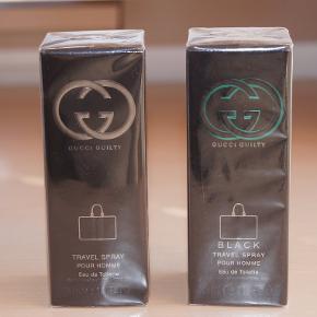 BLOT TIL INFO: Mine priser er 50% fra butikspriser og derfor sælger jeg ikke under halvpris. Køb flere og spar porto!! Køberen betaler TS handlen og porto!!  Super herreparfume fra Gucci og Hugo Boss! NY!!  Billede 1 : Fra venstre: 1. Gucci Guilty Eau de Toilette - 30 ml Butikspris: 485.-kr Min pris: 235.-kr + porto / per stk.  2. Gucci Guilty Black Eau de Toilette - 30 ml Butikspris: 485.-kr Min pris: 235.-kr + porto / per stk  Billede 2: Hugo Boss Bottled Absolute - Eau de Parfum - 50ml! NY! En hyldest til den tidløse og moderne maskulinitet af Boss Bottled i en Eau de Parfum version.  Butikspris: 579.-kr Min pris: 295.-kr + porto  SE ALLE MINE ANDRE SPÆNDENDE ANNONCER!