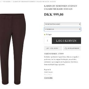 Karen By Simonsen bukser