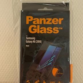 Ægte Panzerglass til Samsung Galaxy A6 (2018) Vejl. 149 kr.   Sælges da min datter har fået ny telefon.