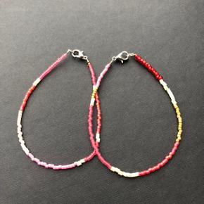 2 armbånd af miyuki perler lyserøde farver 💮 prisen er inkl Porto og samlet for begge to