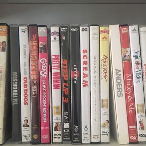 Dvd'er! 20 kr pr stk eller 3 for 50☺️✨