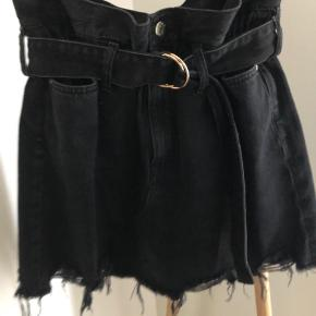 Urban style denim skirt with belt. Size 34-38. Possibility to customize by belt.