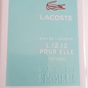 Lacoste eau de toilette 50ml aldrig været brugt