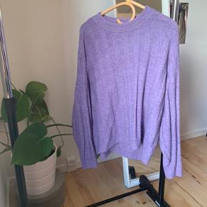 Fin lilla sweater 🌸