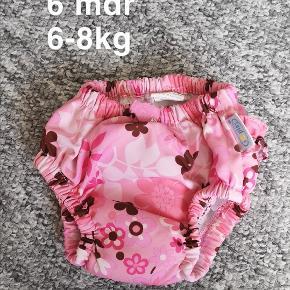badetøj, badeble str. 6 mdr 6-8kg