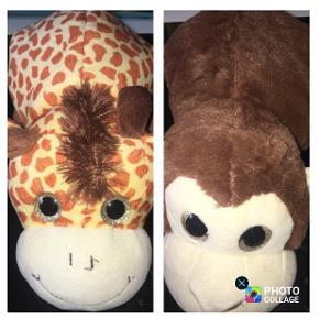 Giraf abe bamse kan laves om vende tøjdyr