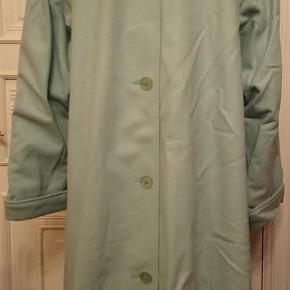Varetype: swinger frakke Farve: lys turkis  Herluf Design - swinger frakke.