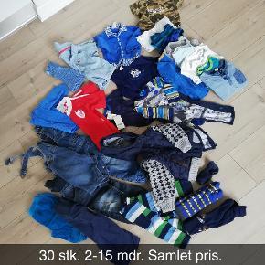 Stor tøjpakke 0-15 måneder.