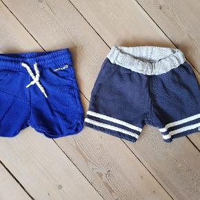 2 par shorts str 80.  Det ene par er fra Papfar i flot stand, det andet er fra tumble n dry, brugt meget fnuret.  Samlet pris +evt fragt