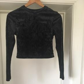 Velour top from H&M, never worn
