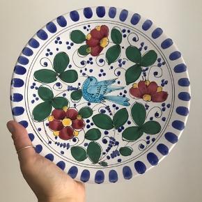 Fineste håndmalede tallerken sælges grundet flytning 💙 ingen skår eller lignende!