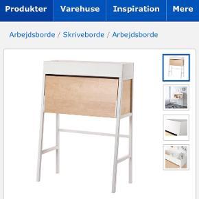Skrivepult (fx skrive- eller sybord) fra Ikea, ca. 2 år gammelt. nypris 1.499,-BYD
