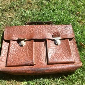 Skoletaske fra 60'erne fin stand.