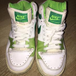 Originale Nike court force high tops. Årstal ca 1987 (+/-).