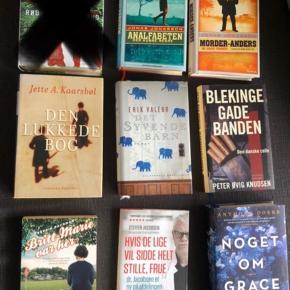 Bøger, læst en gang og fra røgfrit hjem