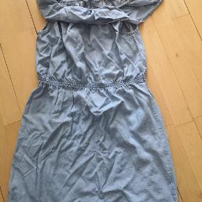 Soft denim kjole
