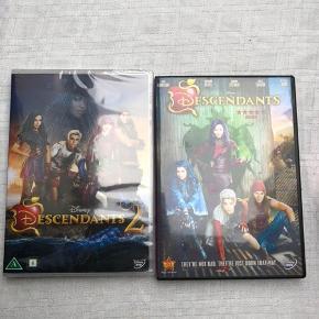 Descendants uden danske undertekster og Descendants 2. Sælges samlet
