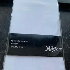 Lækkert luksus lagen fra Magasin i egyptisk bomuldssatin.  Helt nyt og indpakket.