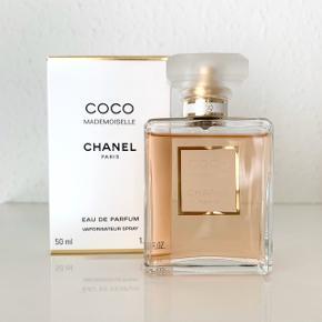 Chanel Coco Mademoiselle Eau de parfum 50 ml ubrugt. Fast pris 600 kr.